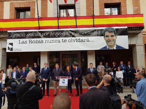 Las Rozas recuerda a Ignacio Echeverría
