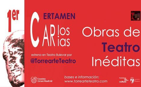I Certamen Carlos Arias Obras de Teatro Inéditas