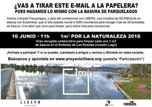 Contra la Basuraleza en Parquelagos