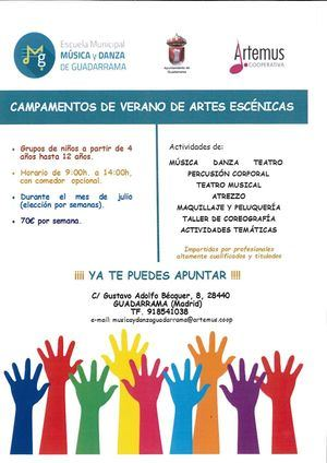 Los alumnos de la EMMyD de Guadarrama celebran su Festival de fin de curso