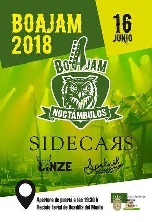 Sidecars actuará en el Festival de Música Joven de Boadilla