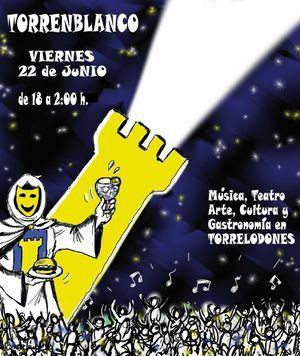 El 22 de junio, cuarta edición de #TorreEnBlanco