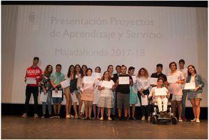 Los jóvenes majariegos presentan 12 proyectos colaborativos