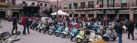 Hoyo de Manzanares celebró el Cuarto Encuentro Vespista
