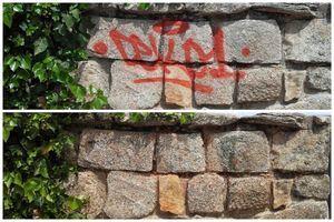 Colaboración ciudadana en la campaña 'Un grafiti, una foto'