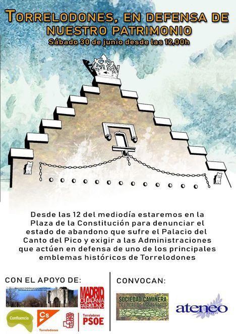 Diversas asociaciones convocan un acto en defensa de Canto del Pico