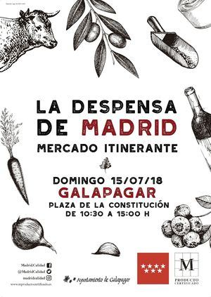 La despensa de Madrid visita Galapagar