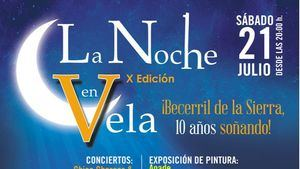 X Edición Noche en Vela 2018: Becerril, 10 años soñando