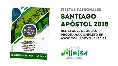 Collado Villalba celebra las fiestas de Santiago Apóstol