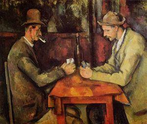 Los jugadores de cartas. Paul Cézanne