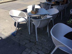 Comienza la señalización de espacios autorizados a las terrazas de la Gran Vía