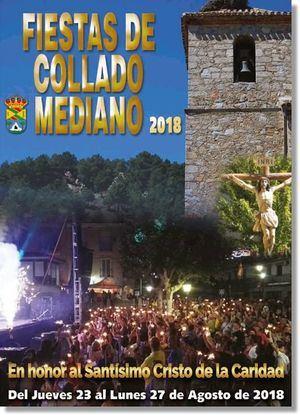 Collado Mediano celebra sus fiestas en honor al Cristo de la Caridad