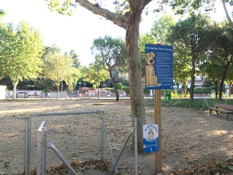 Nueva zona de esparcimiento canino en el Parque de Clamart