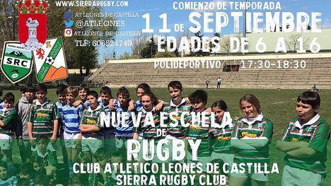 Guadarrama contará con una nueva Escuela Municipal de Rugby