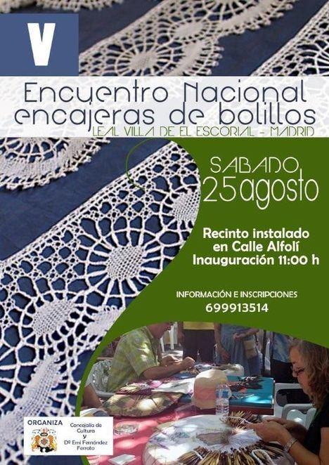 V Encuentro Encuentro Nacional de Encajeras de Bolillos