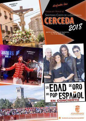 Cerceda celebra las fiestas en honor al Cristo de la Esperanza