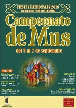 Abierta la inscripción para participar en torneos de las Fiestas Patronales