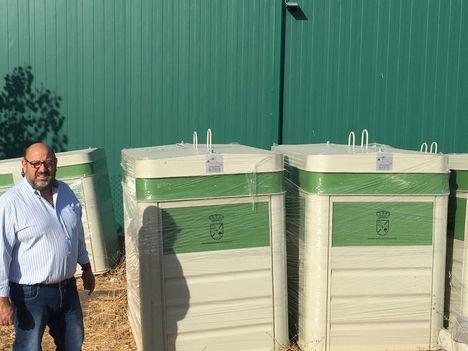Colmenarejo renovará los contenedores de vidrio. papel y cartón