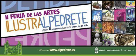 Alpedrete acoge IlustrAlpedrete 2018, la segunda edición de su Feria de las Artes