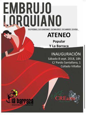 El Ateneo Popular de Collado Villalba se estrena con un homenaje a Lorca