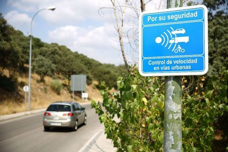 Nuevo radar para controlar la velocidad en Las Rozas