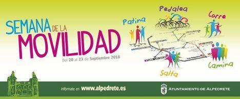 Actividades en Alpedrete con motivo de la Semana Europea de la Movilidad