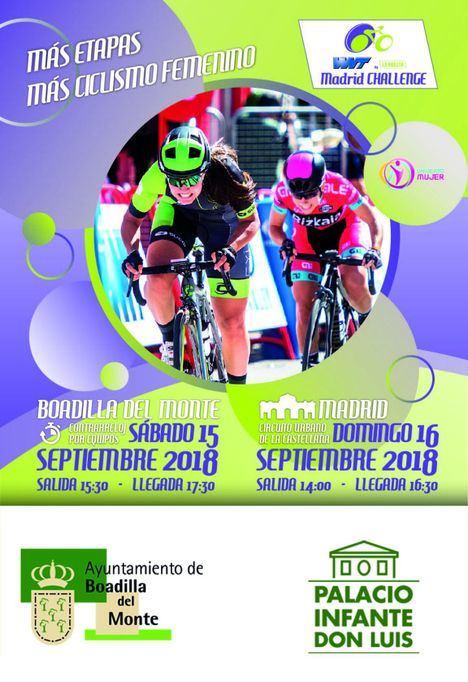 Boadilla acoge la Madrid Challenge by La Vuelta