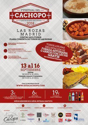 Lo mejor de la gastronomía asturiana en Las Rozas con el Festival del Cachopo