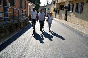 Concluye la primera fase del proyecto de acondicionamiento y asfaltado del casco urbano