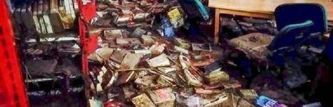 La Biblioteca Municipal de Guadarrama recoge libros para la Biblioteca Municipal de Cebolla