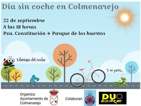 Día sin coches en Colmenarejo