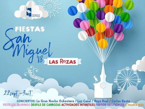 Programa de las Fiestas de San Miguel 2018