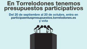 Presupuestos Participativos de Torrelodones para 2019