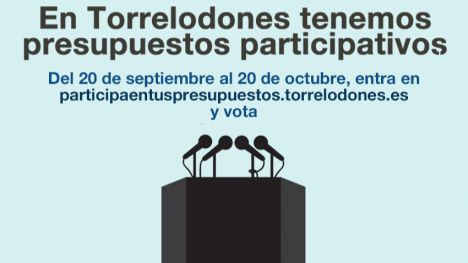 Siete proyectos para los Presupuestos Participativos de Torrelodones para 2019