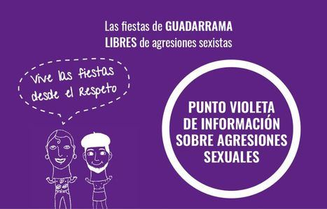 Guadarrama contará con puntos violetas en las fiestas patronales