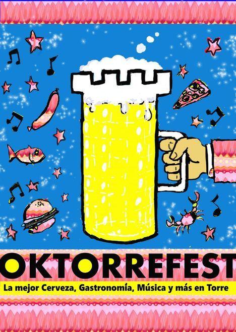 Cerveza y comida alemanas para la cuarta edición de la OkTorreFest