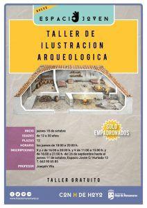 Dos talleres gratuitos de ilustración para los jóvenes de Hoyo