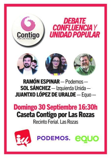 Fiestas con Conciencia en la caseta de Contigo por Las Rozas