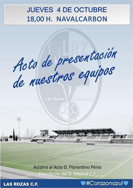 Las Rozas CF entrega este jueves sus premios Corazón Azul