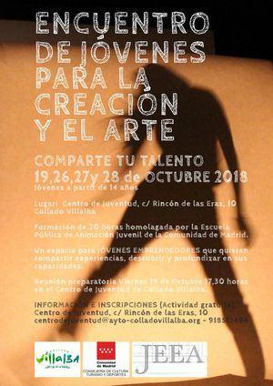 El Centro de Juventud organiza un Encuentro de Creadores