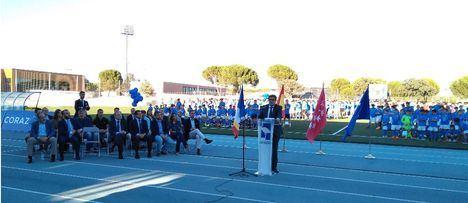 Las Rozas C.F. entrega sus 'corazones azules'