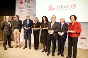 La red de Bibliotecas recoge el premio Liber 2018 de Fomento de la Lectura