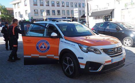 Protección Civil estrena un nuevo vehículo de asistencia sanitaria