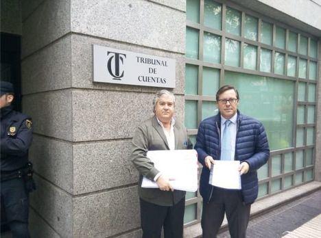El PP presenta su denuncia por un supuesto sobrecoste en las obras del paso inferior