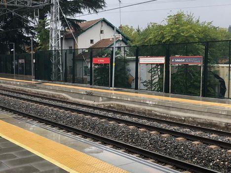 Tras casi un año de obras, la estación de Las Zorreras estrena accesibilidad