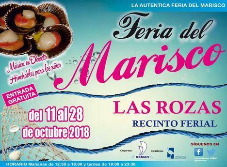 La mejor gastronomía gallega, en la Feria del Marisco de Las Rozas