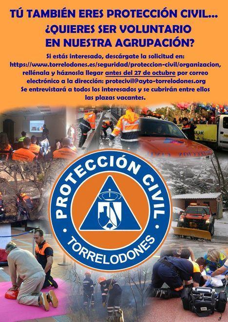 Protección Civil busca, hasta finales de octubre, nuevos voluntarios