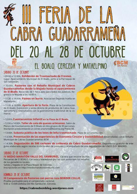Dos fines de semana para festejar la cabra guadarrameña