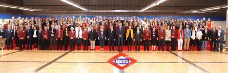 Arranca la celebración del Centenario del Metro de Madrid