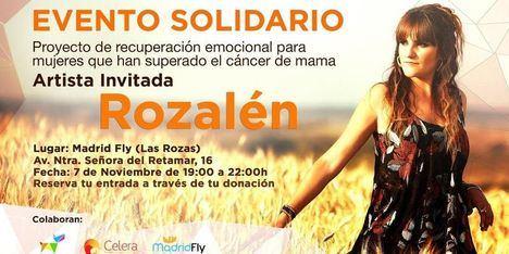 Rozalén actuará para recaudar fondos contra el cáncer de mama